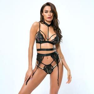 LEVEL S7024D Babydoll Lingerie Transparent Lingerie Set Sexy Lace New Womens Lingerie Set