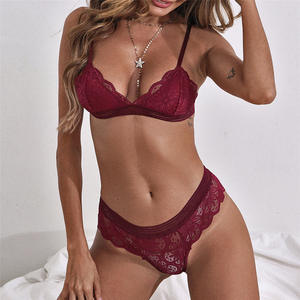S8603I-1 Quality assured factory lingerie underwear panties lingerie underwear lace sexy transparent ladies underwear panties