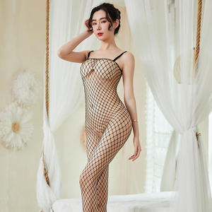 Sexy Lingerie New Hot Fashion Black Mesh Bodysuit Femme Baby Doll Valentine Day Nighty Japanese Mature Women Sexy Hot Lingeries